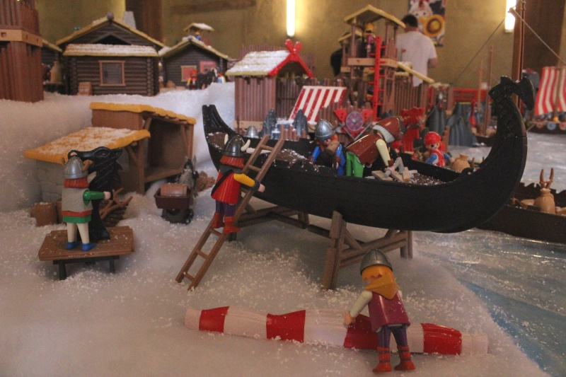 drakkar viking collectionneur de playmobil